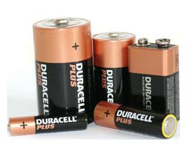 batterie ricaricabili e non insieme